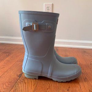 HUNTER Women's Original Short Rain Boots Blue